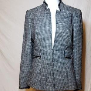 Tahari Arthur Levine Tweed Blazer